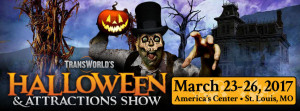 Transworld's 2017 Halloween & Attraction Show - See us at Booth #1517