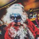 NYZ Apocolypse's Super Scary Mall Santa. Photo courtesy of NYZ Apocalypse.