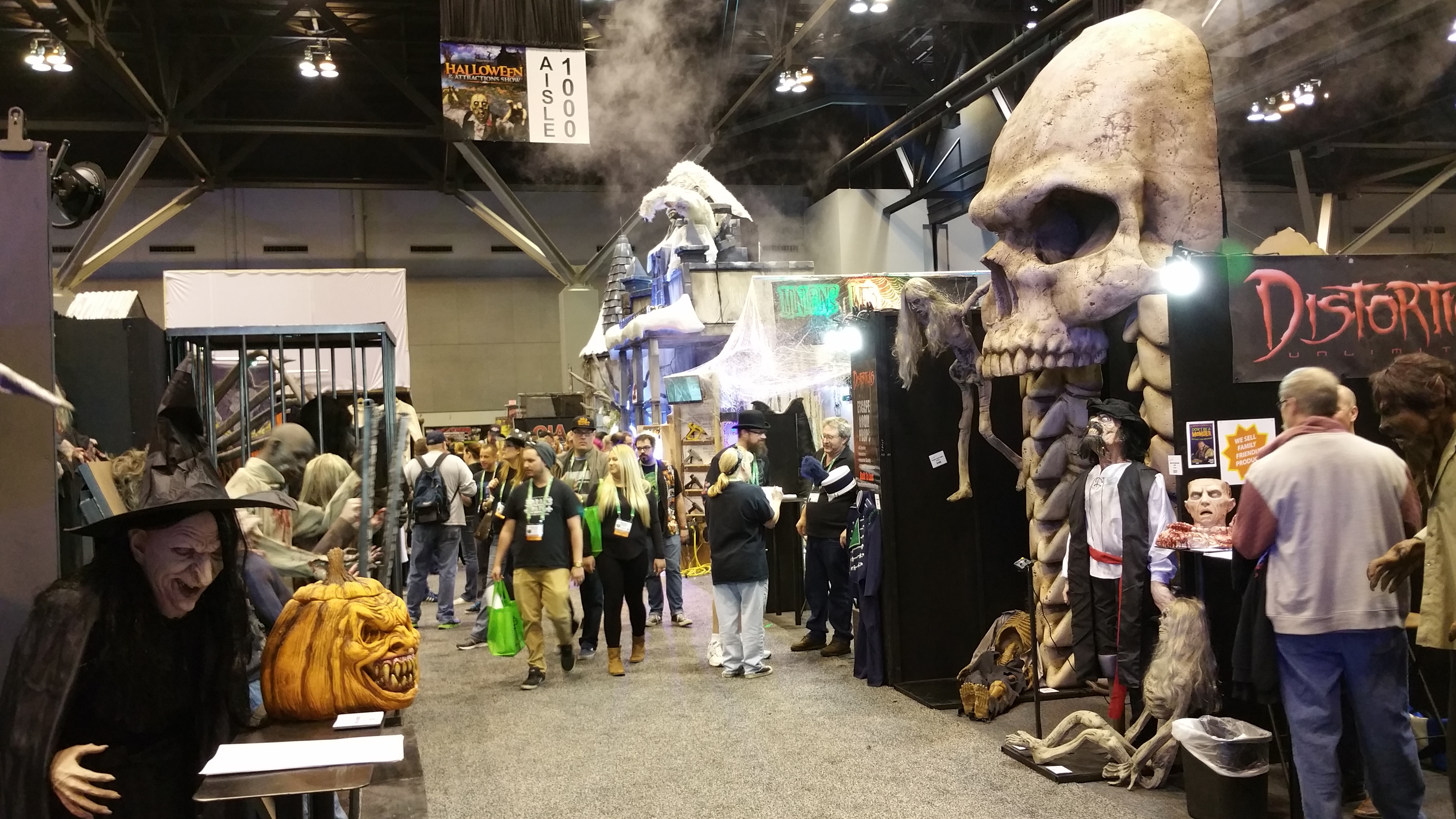 Transworld S Halloween Amp Attractions Show A Huge Hit For