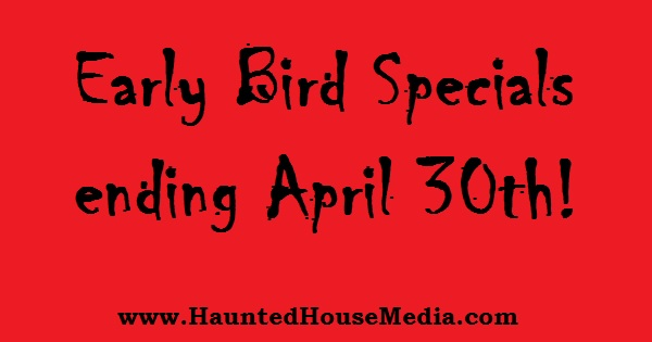 HHM early bird pricing red background