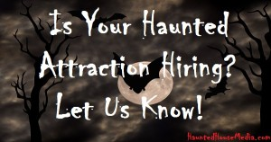 is your haunt hiring with hhm logo